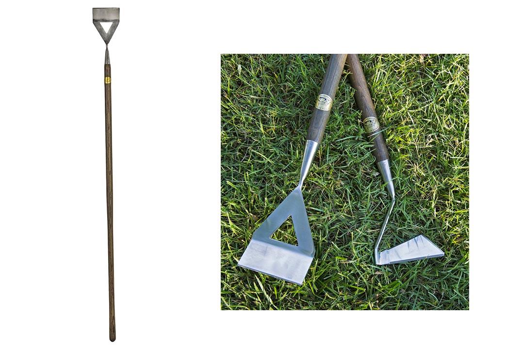 Joseph Bentley Traditional Garden Tools Stainless Steel Dutch Hoe
