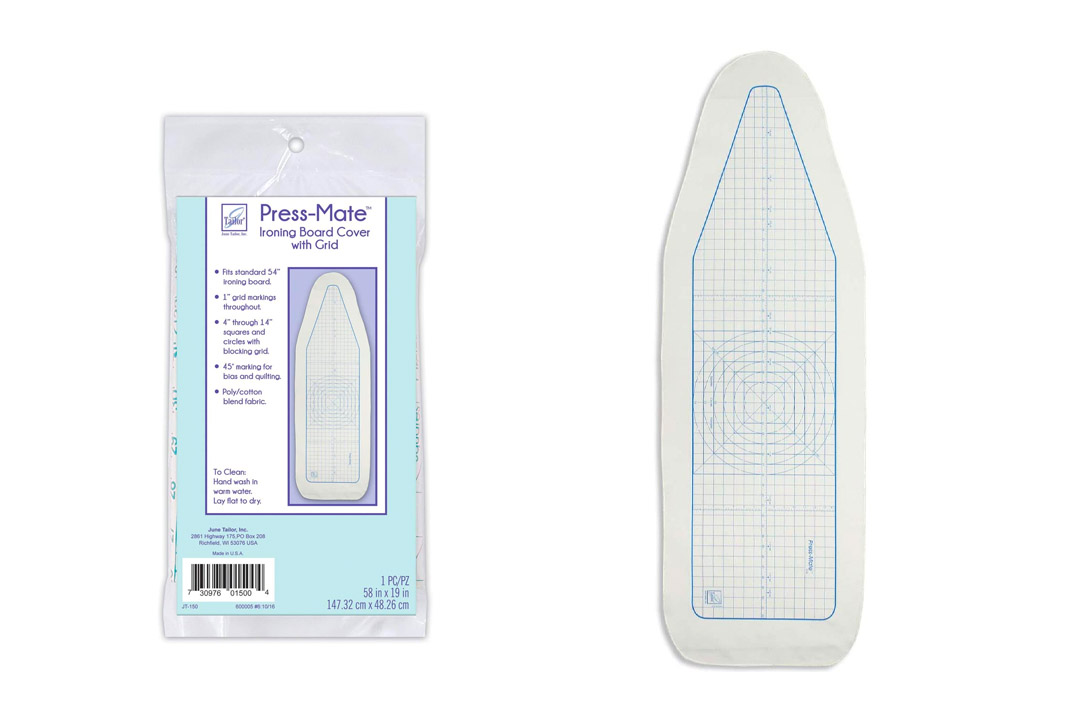 June Tailor Press-Mate 58-Inch-by-19-Inch Ironing Board Cover