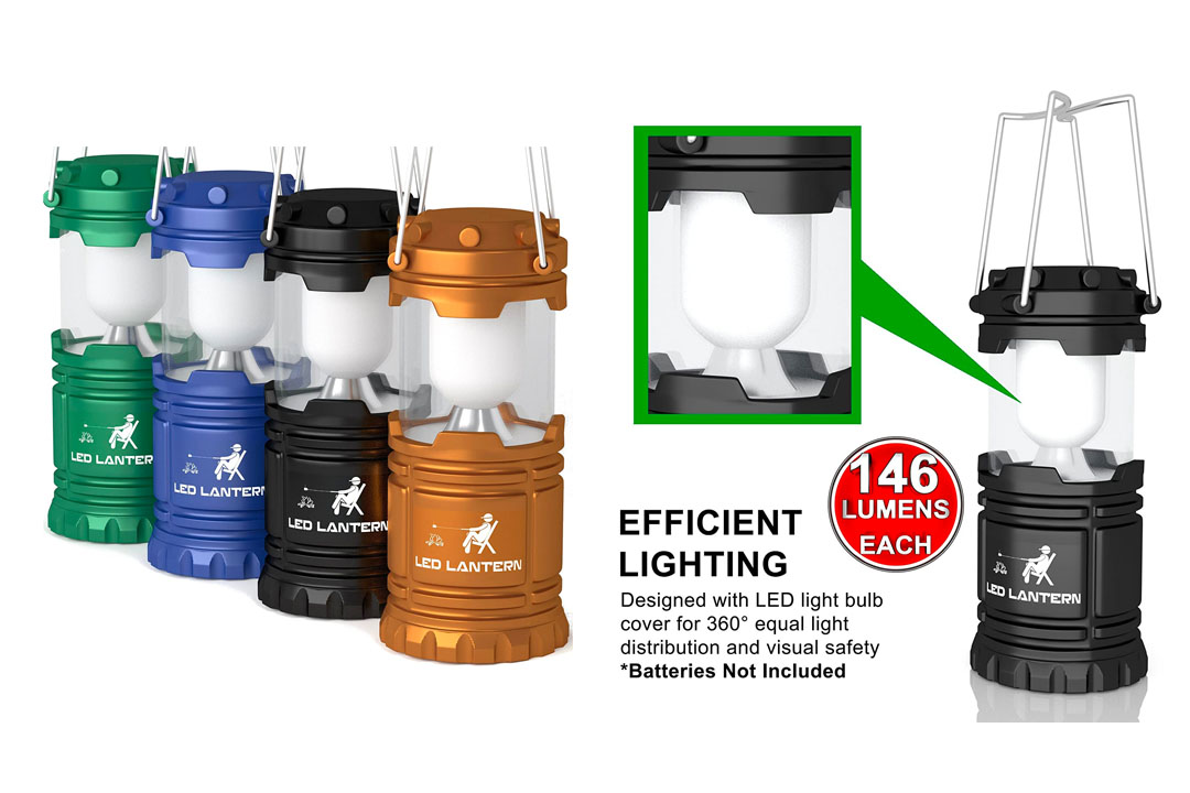 LED Camping Lantern and Flashlight