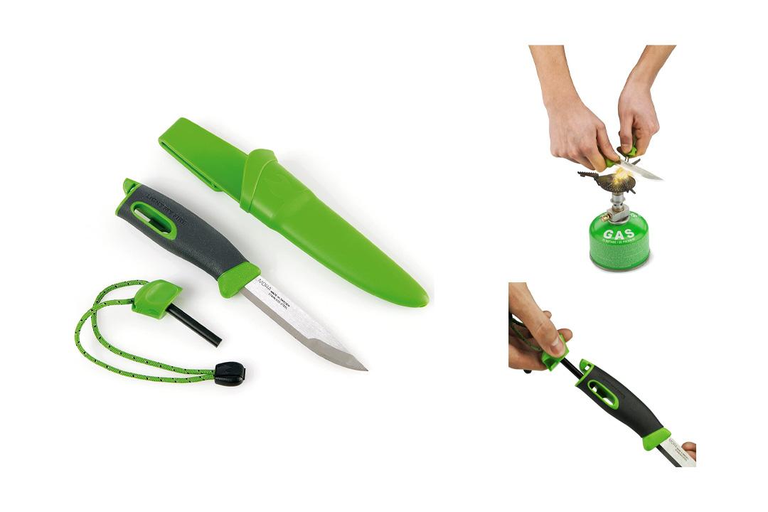 Light My Fire Swedish FireKnife with 9.5 cm (3.75 Inch) Sandvik Stainless Steel Blade
