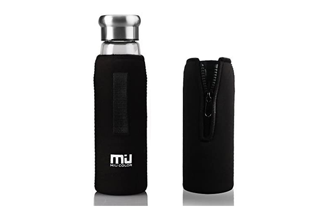 MIU Color Glass Water Bottle