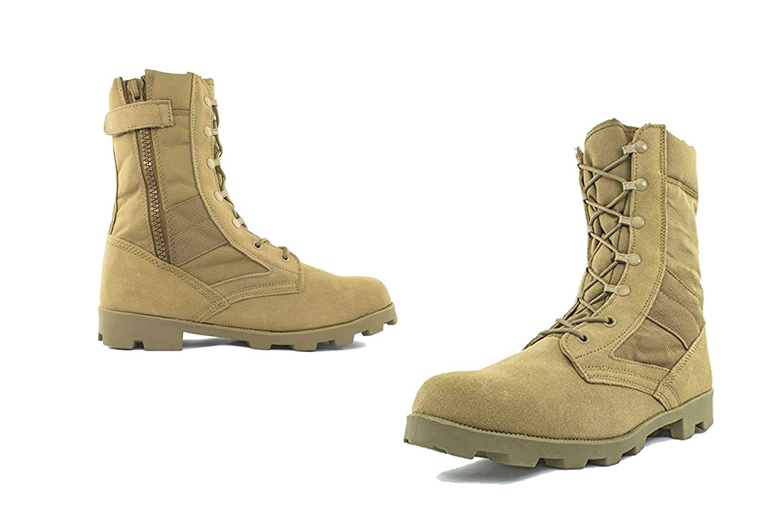 Men's 9 Inch Desert Tan Boots