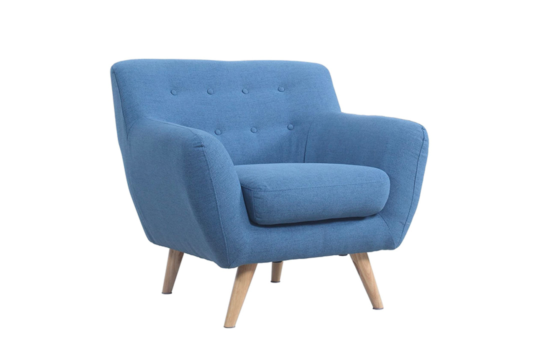 Modern Mid Century Loveseat/Chair
