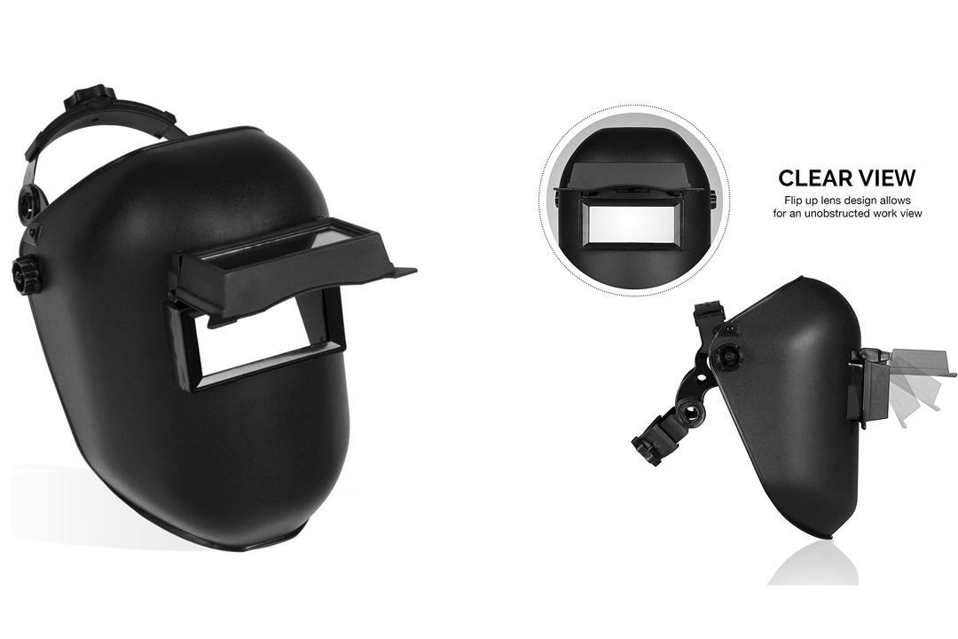 Neiko 53847A Industrial Grade Welding Helmet with Flip Lens