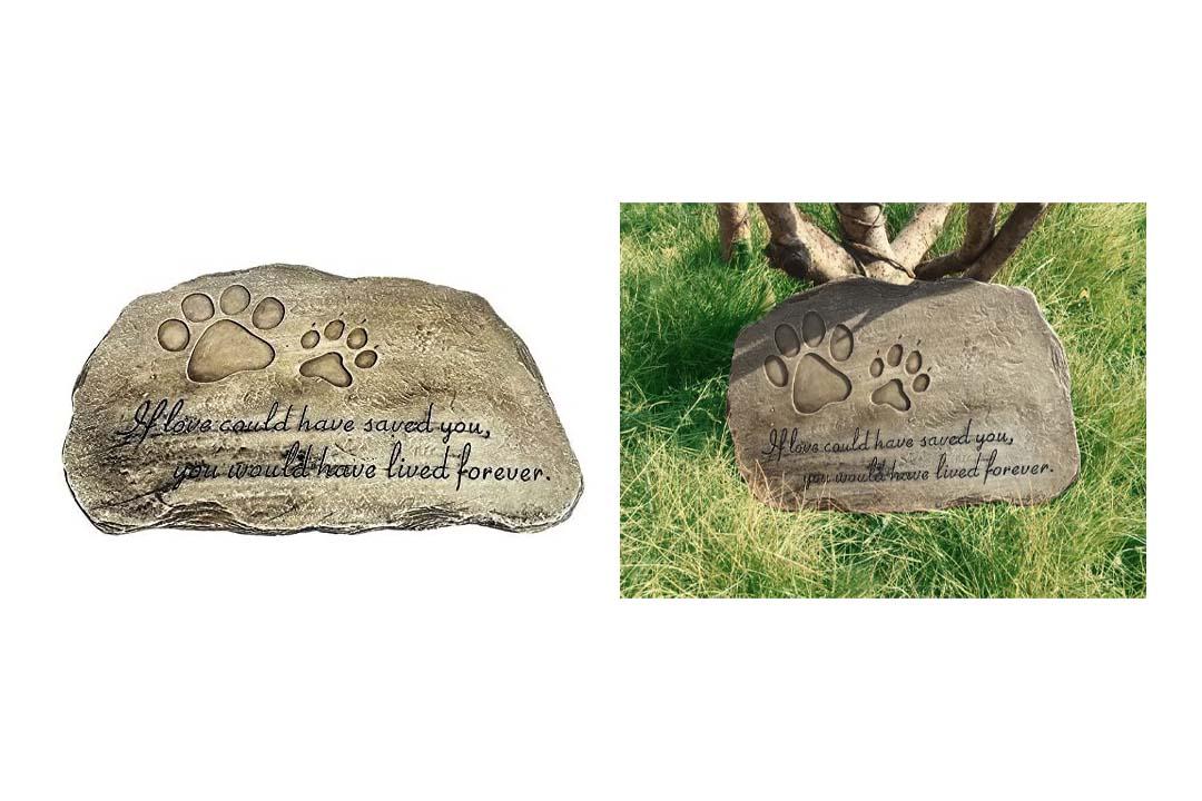 Pet Memorial Stone Plaque