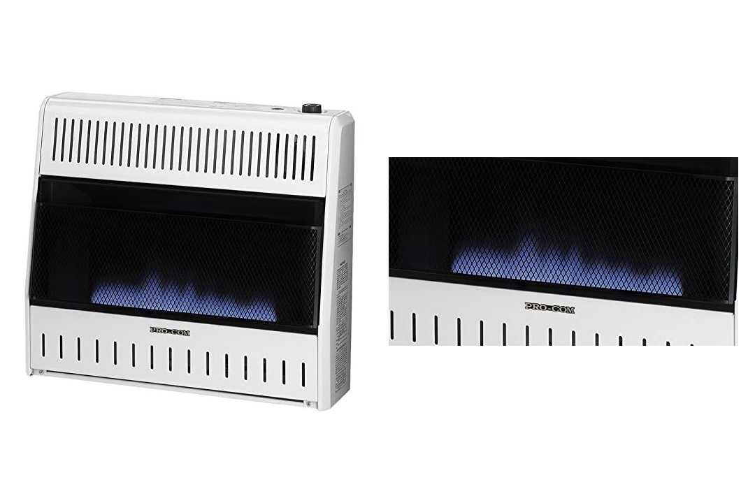 ProCom Blue Flame Vent-Free Wall Heater 49195