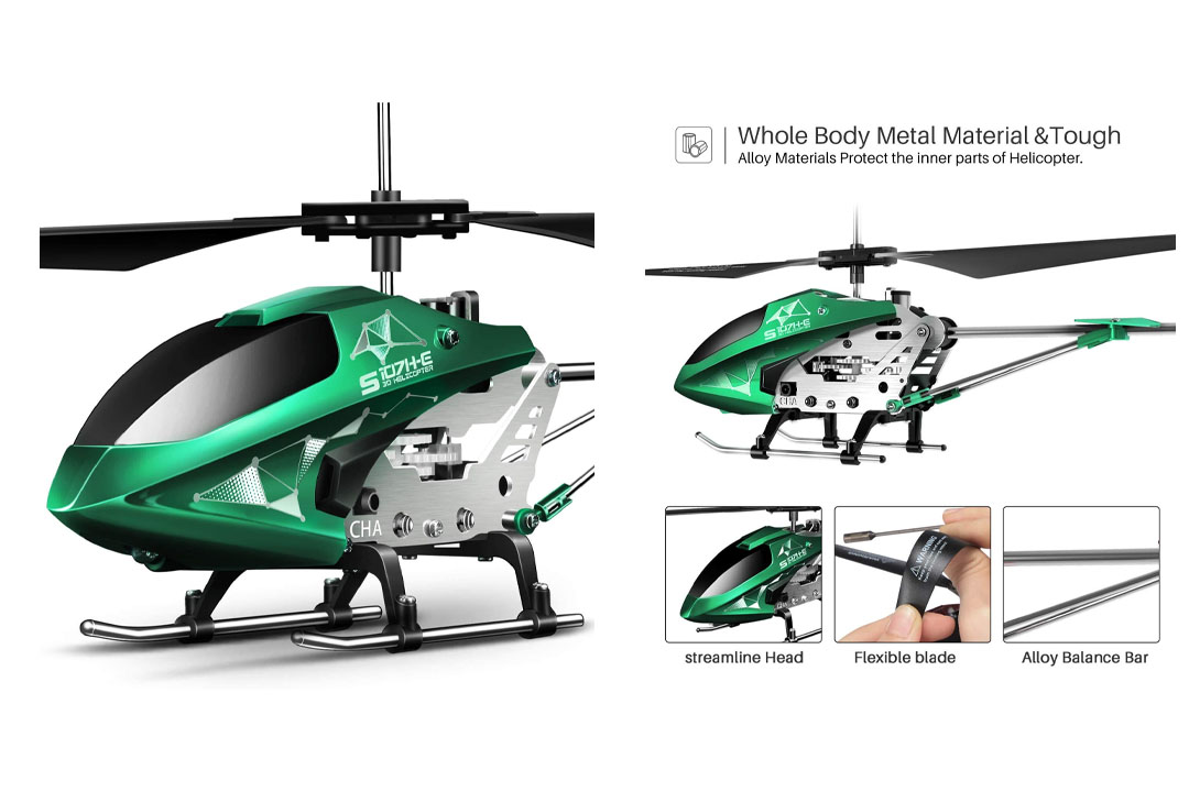 Remote Control Helicopter, S107H-E Aircraft with Altitude Hold