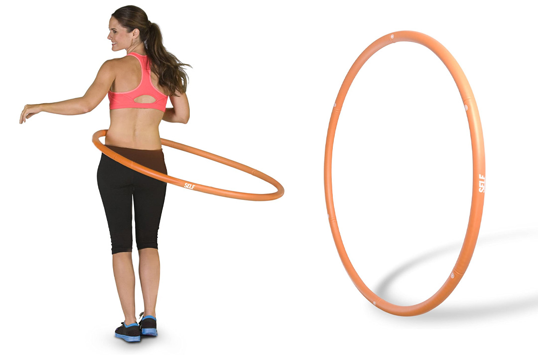 SELF Weighted Fitness Hoop, 3-pound