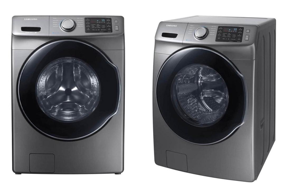 Samsung Platinum Front Load Steam Washer