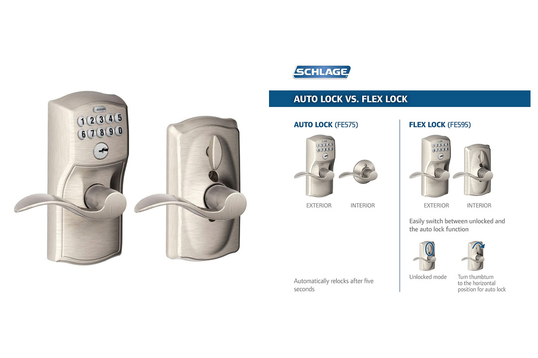 Schlage FE595 CAM 619 ACC Camelot Keypad