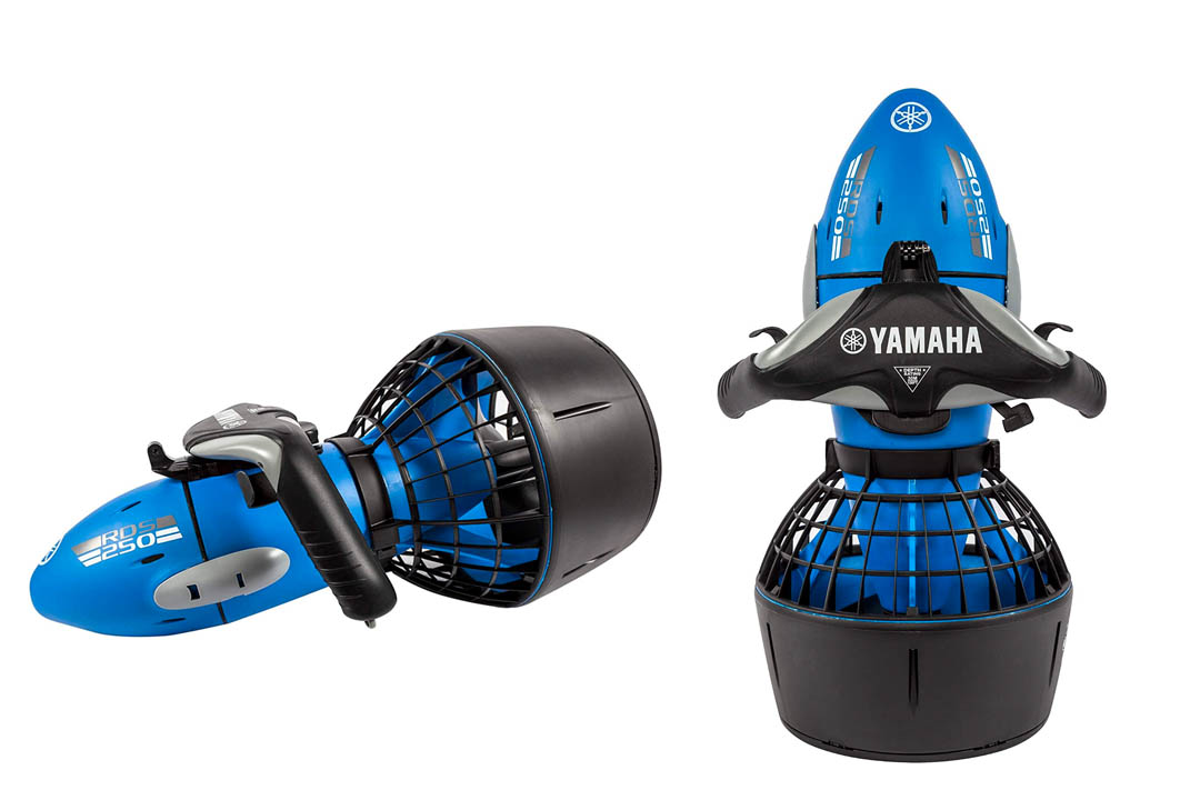 Sea-Doo Yamaha RDS250 Sea scooter with Camera Mount Recreational Dive Series Underwater Scooter
