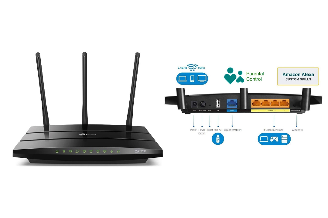 TP-Link AC1750 Smart WiFi Router