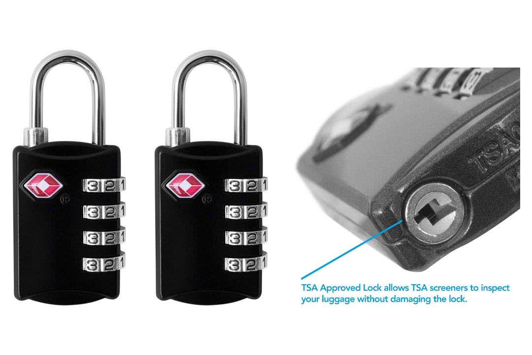 Lewis N. Clark TSA Approved Cable Lock