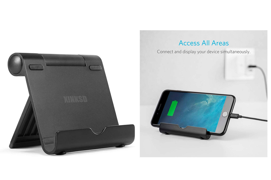 The Anker Multi-Angle Aluminum Stand for Tablets