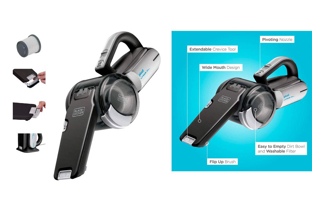 The Black And Decker BDH2000PL Max Lithium Pivot Vacuum 20 Volt
