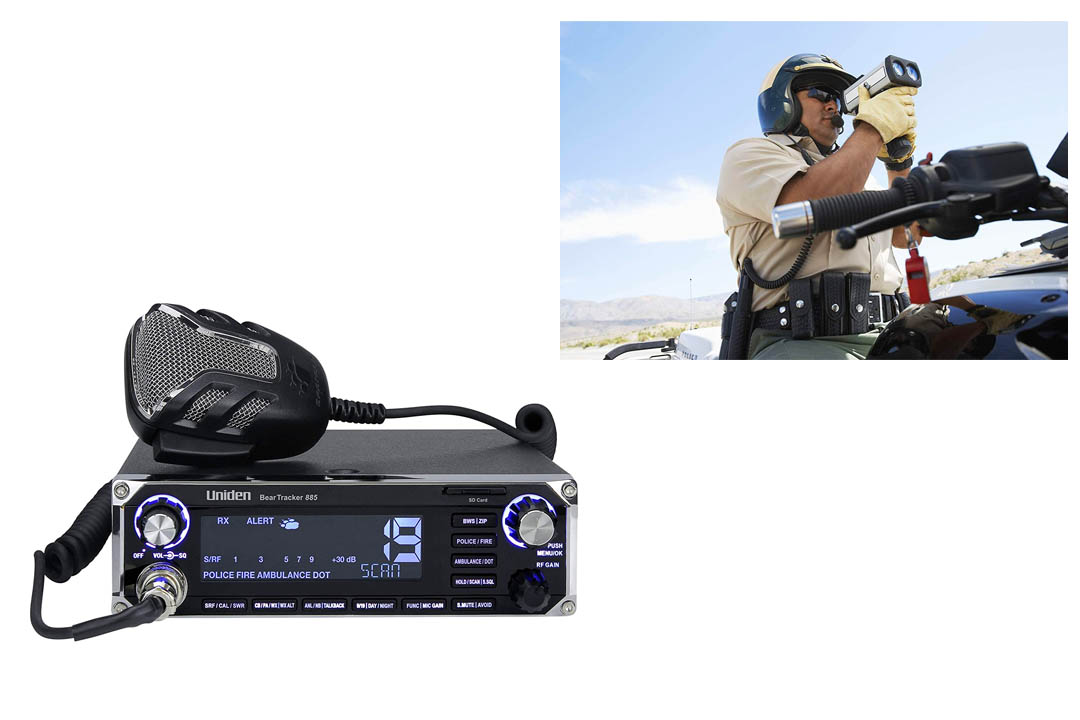 Uniden BEARTRACKER 885 Hybrid Full-Featured CB Radio + Digital TrunkTracking