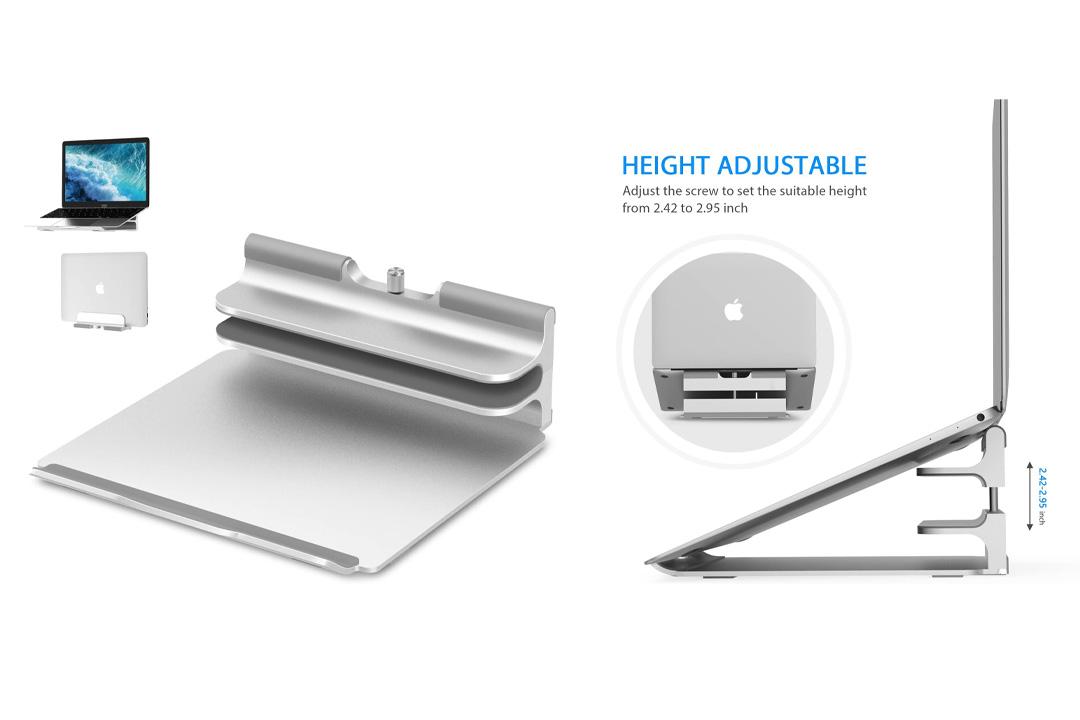 Vertical Laptop Stand - Seenda Adjustable Laptop Stand