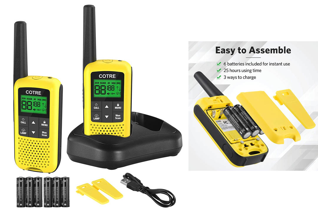 Walkie Talkies - COTRE Two Way Radios, 32 Miles Long Range