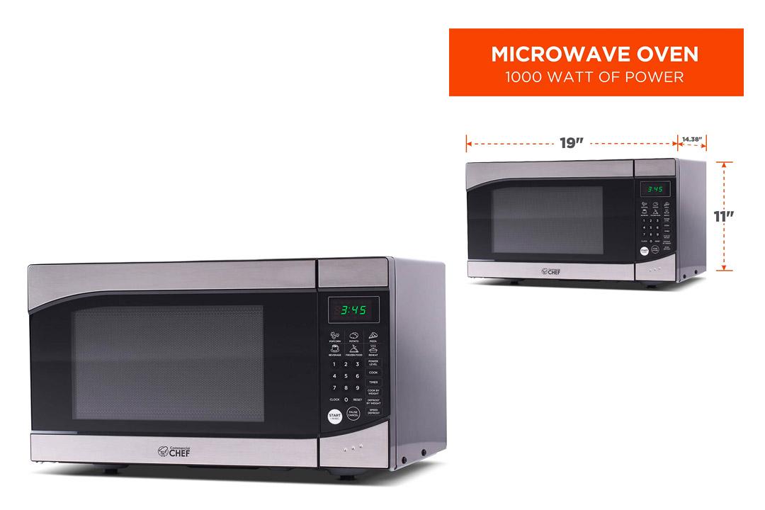 Westinghouse WM009 900 Watt Counter Top Microwave Oven