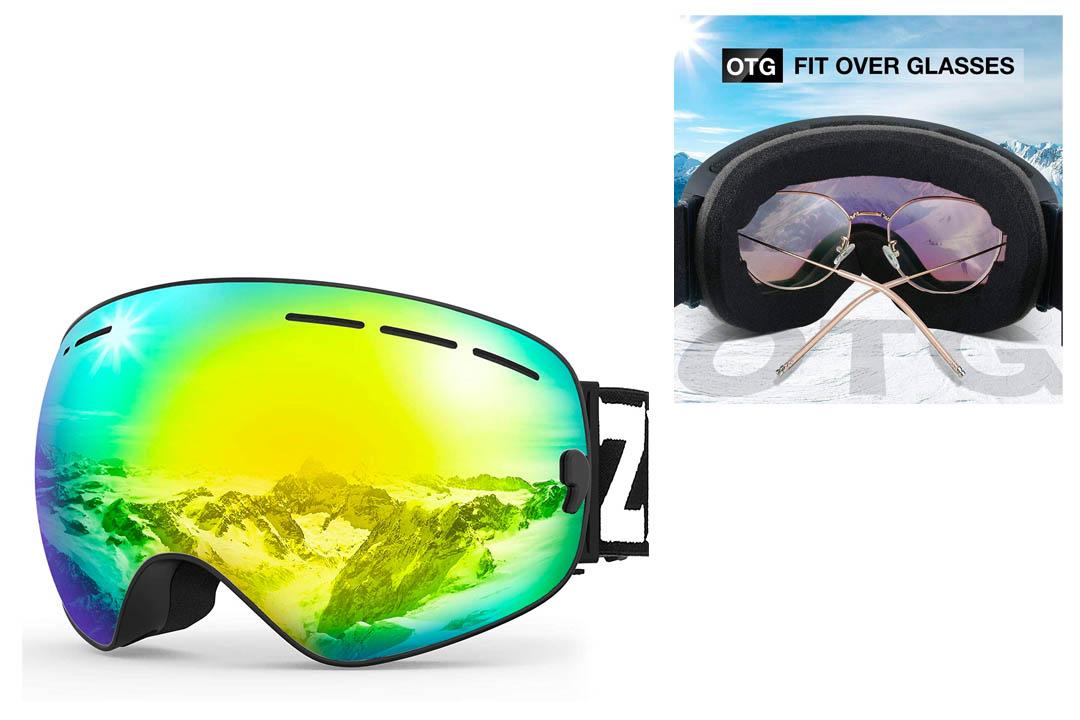 Zionor® 6 Colors Lagopus Snowmobile Snowboard Skate Ski Goggles