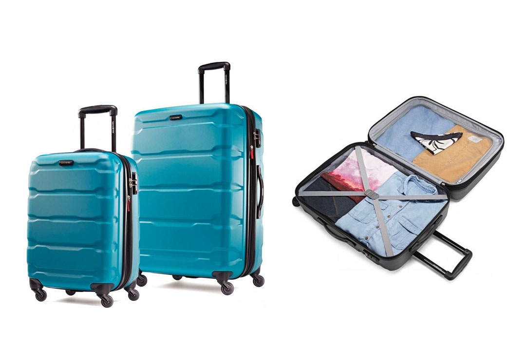 Samsonite Omni a PC 2 Piece with a Set of 20 and 28 type of Spinner