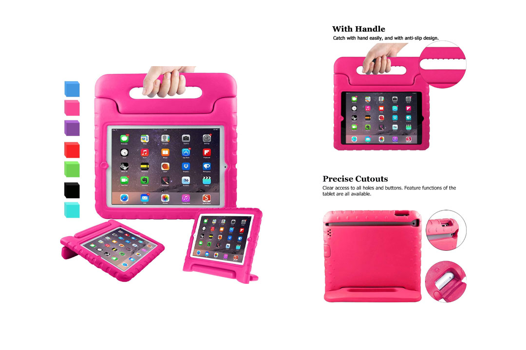 "AVAWO Kids Case for 9.7"" iPad 2 3 4"