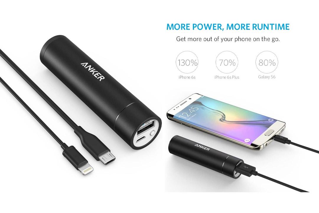 Anker 3rd Gen PowerCore+ Mini 3350mAh Portable Charger External Battery Power Bank