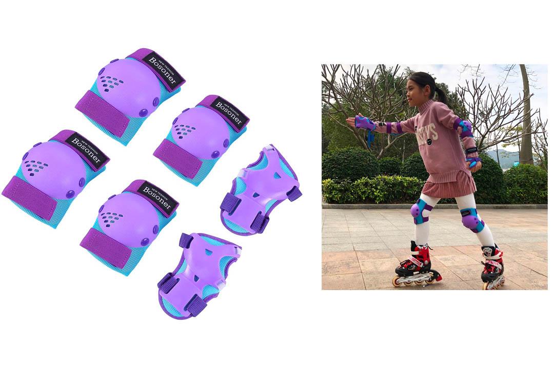 BOSONER Kids/Youth Knee Pad Elbow Pads