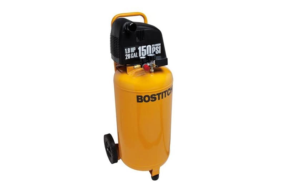 Bostitch BTFP02028 1.8 HP 26-Gallon 150 PSI Oil-Free Air Compressor