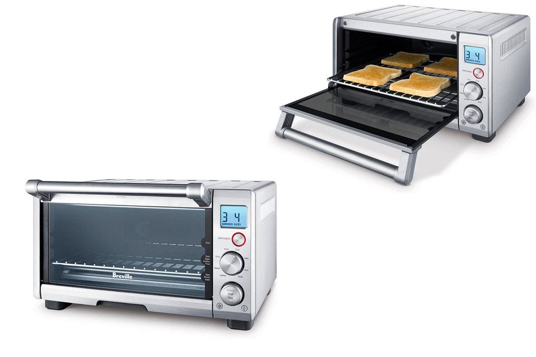 Breville BOV640XL the Compact Smart Oven Stainless Steel