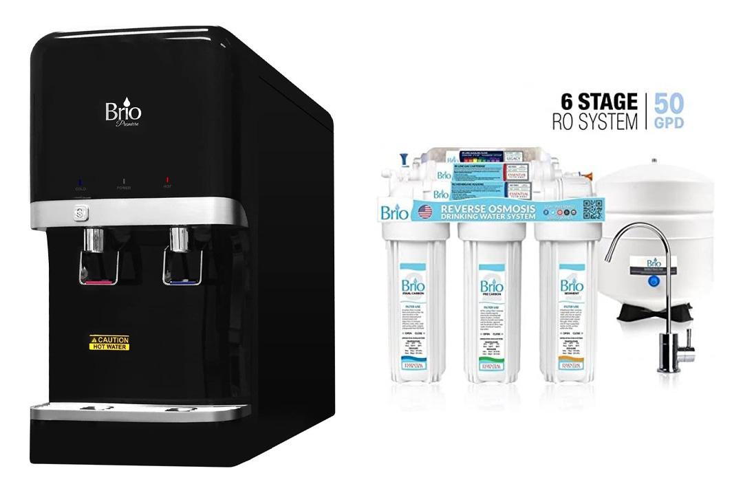 Brio and Magic Mountain 6 Stage Reverse Osmosis Brio CL3000 Water Dispenser