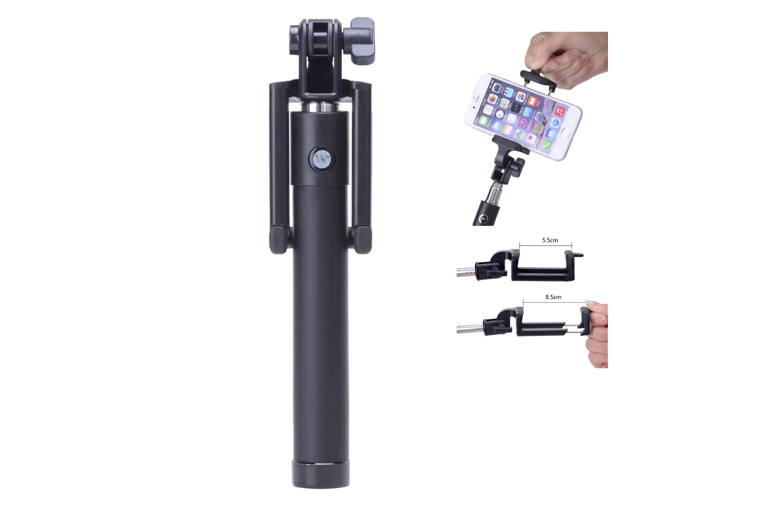 Disph Extendable Pole Bluetooth Self Shooting Monopod