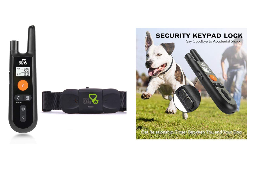 Dog Training Collar - Rechargeable Dog Shock Collar with Beep