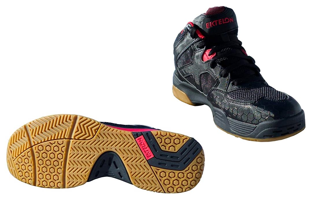 Ektelon Men's NFS Attack Synthethic Mid Racquetball Shoes