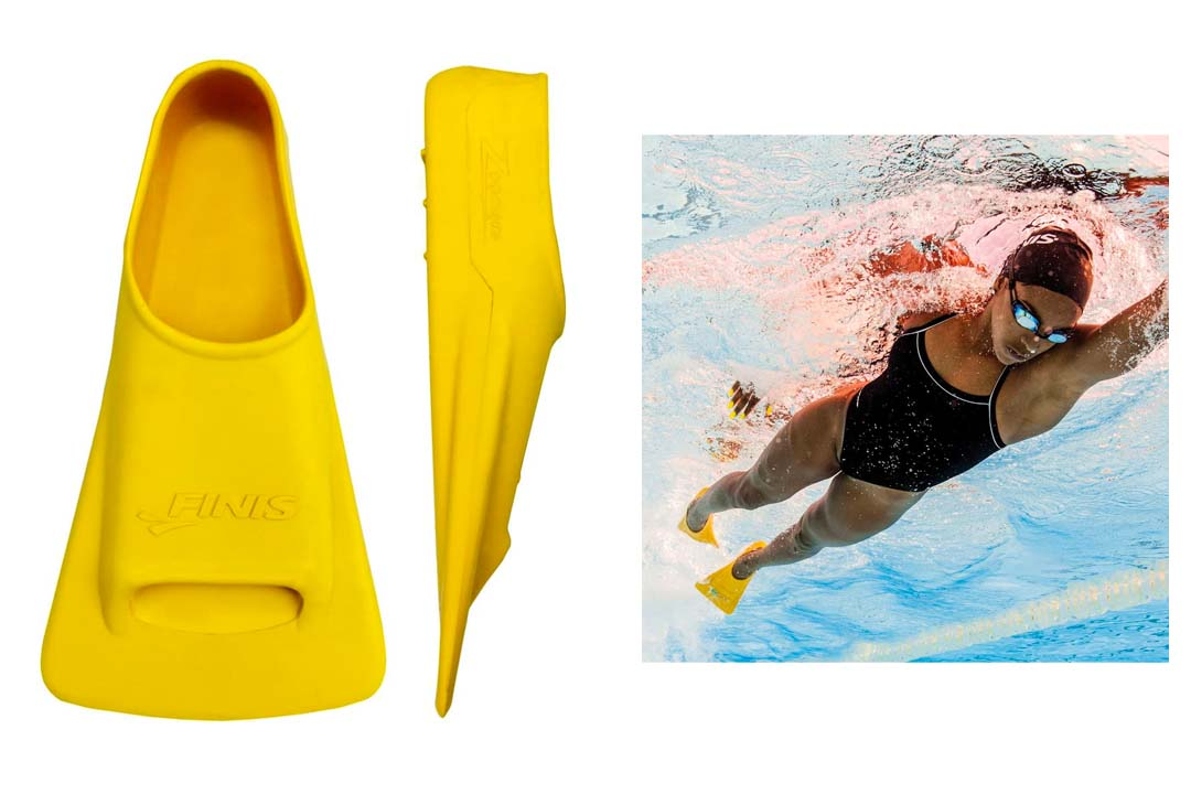Finis Yellow Zoomers Gold