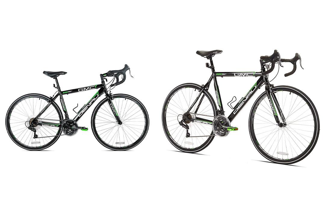 GMC Denali Road Bike, Black/Green, 25-Inch/Large