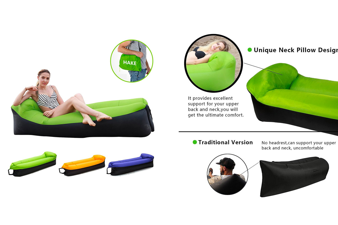 HAKE Inflatable Lounger Inflatable Couch Air lounger Air Chair Lounger Air chair Air Couch