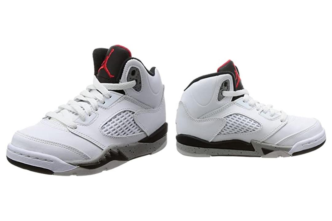 Kids Jordan 5-Retro Basketball Shoe