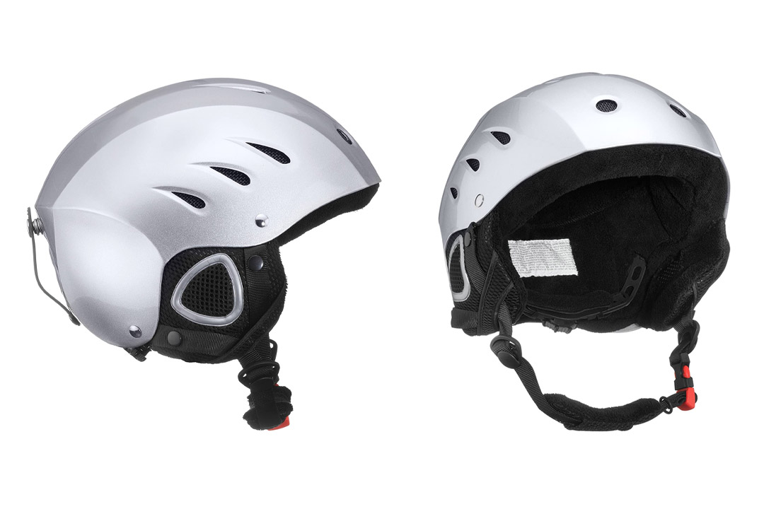 Lucky Bums Snow Sport Helmet with Fleece Liner