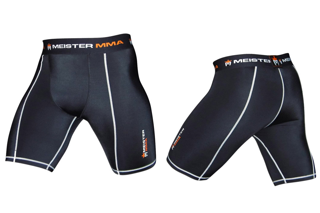 Meister MMA Compression Rush Fight Shorts w/ Cup Pocket