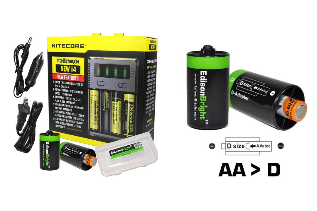 NITECORE New i4 battery Charger For Li-ion
