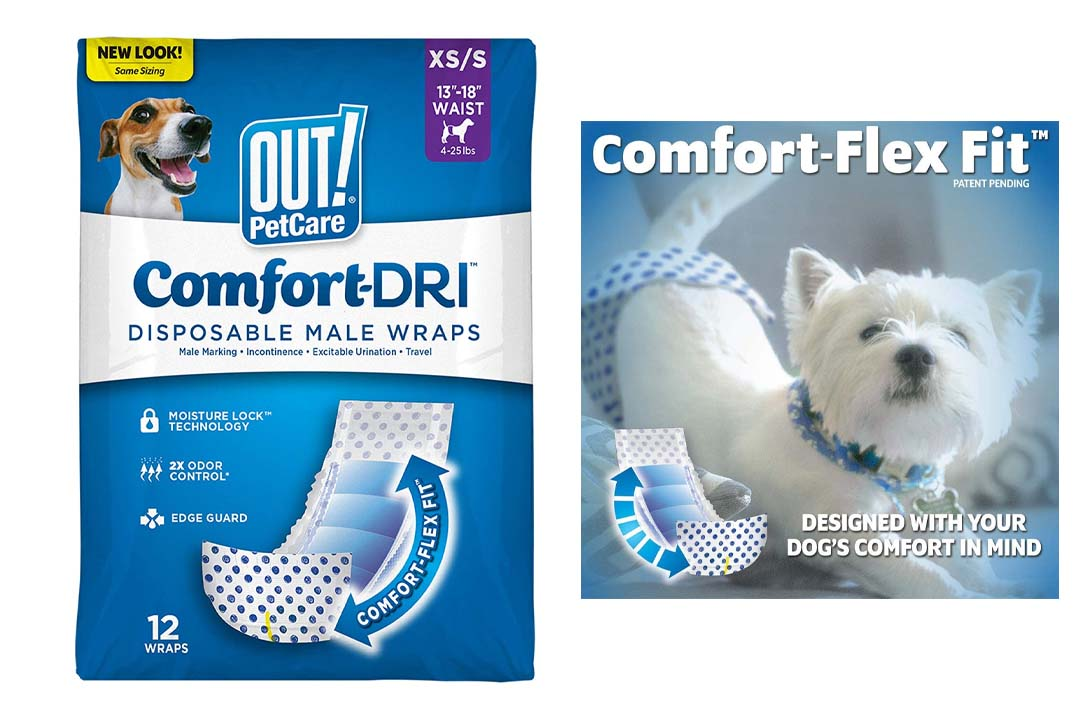 OUT! Disposable Male Wrappers