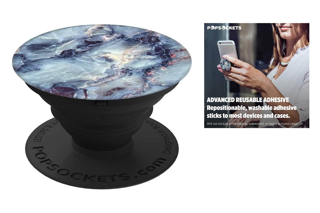 PopSockets: Collapsible Grip & Stand for Phones and Tablets - Opal