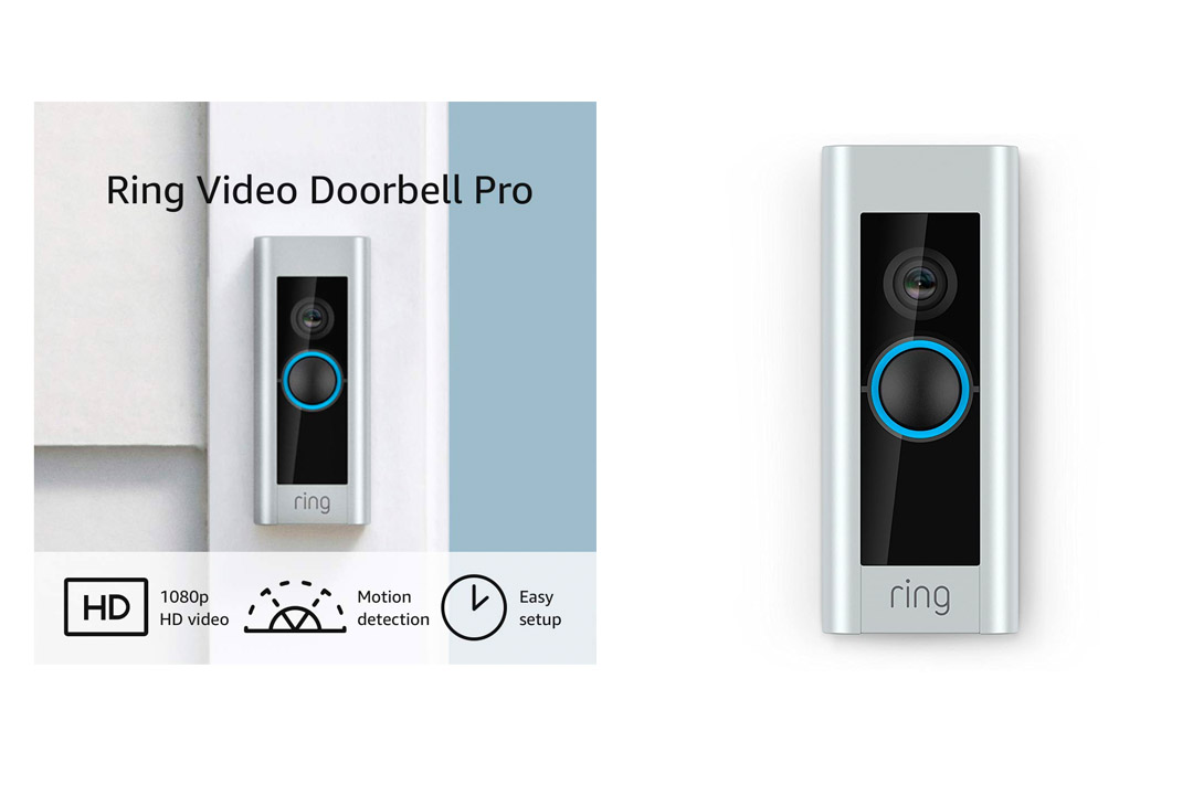 Ring Video Doorbell Pro (Existing Doorbell Wiring Required), Works with Amazon Alexa