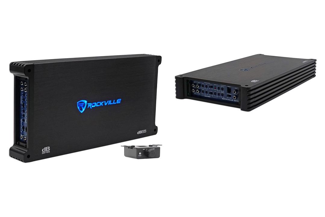 Rockville dB55 4000 Watt/2000w RMS 5 Channel Amplifier Car Stereo Amp