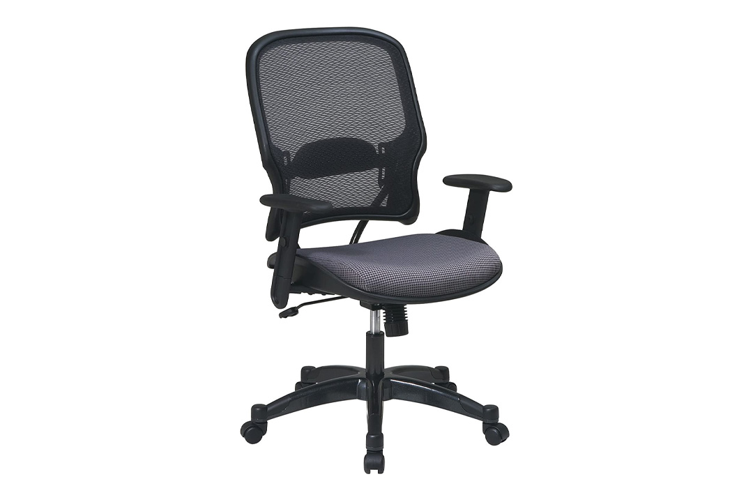 Space Seating 15-Series Professional AirGrid Back and Steel Fabric