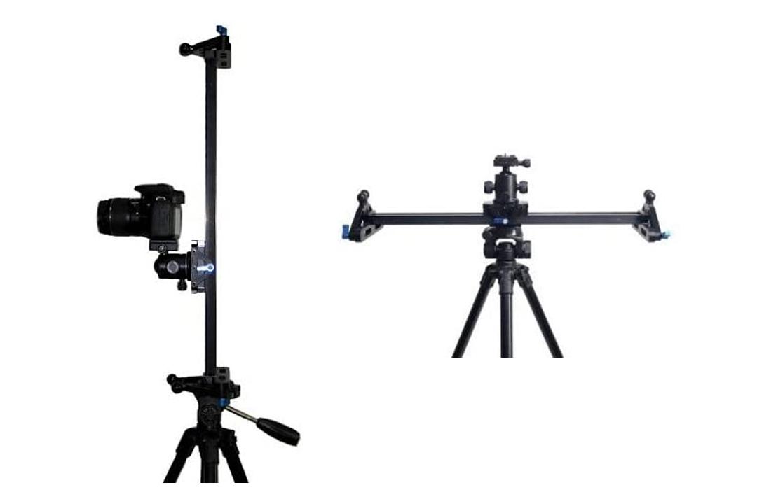 "StudioFX 40"" Ball Bearing Pro DSLR Camera Slider Dolly Track Video Stabilizer by Kaezi"