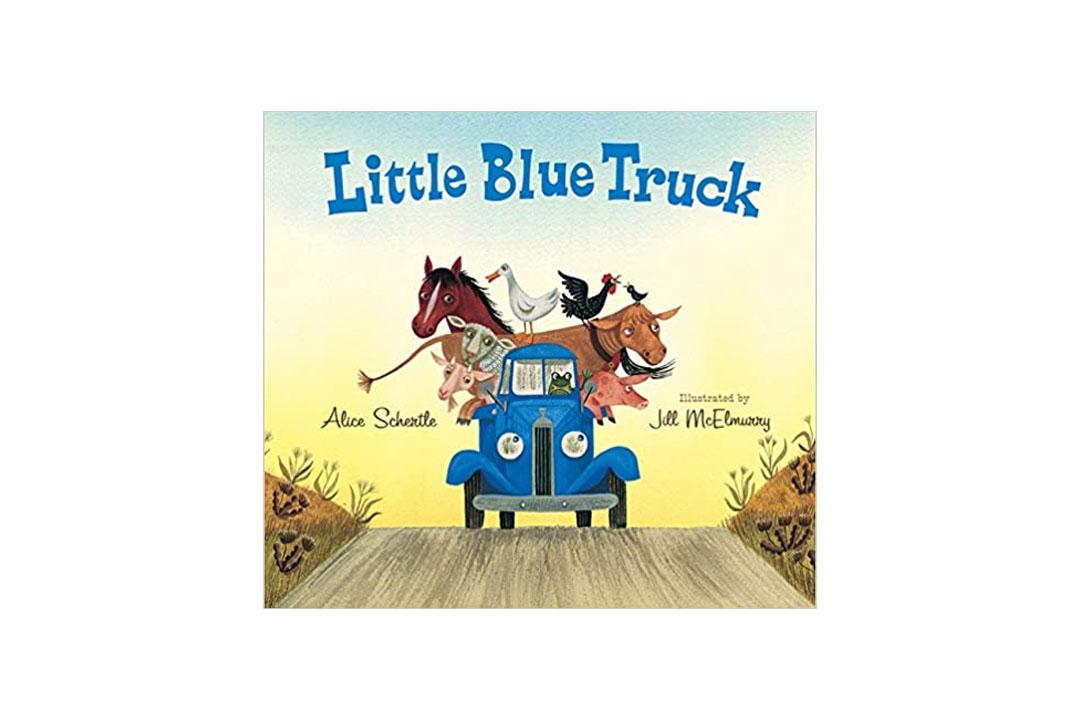 The Little Blue Truck Board Book by Alice Schertle
