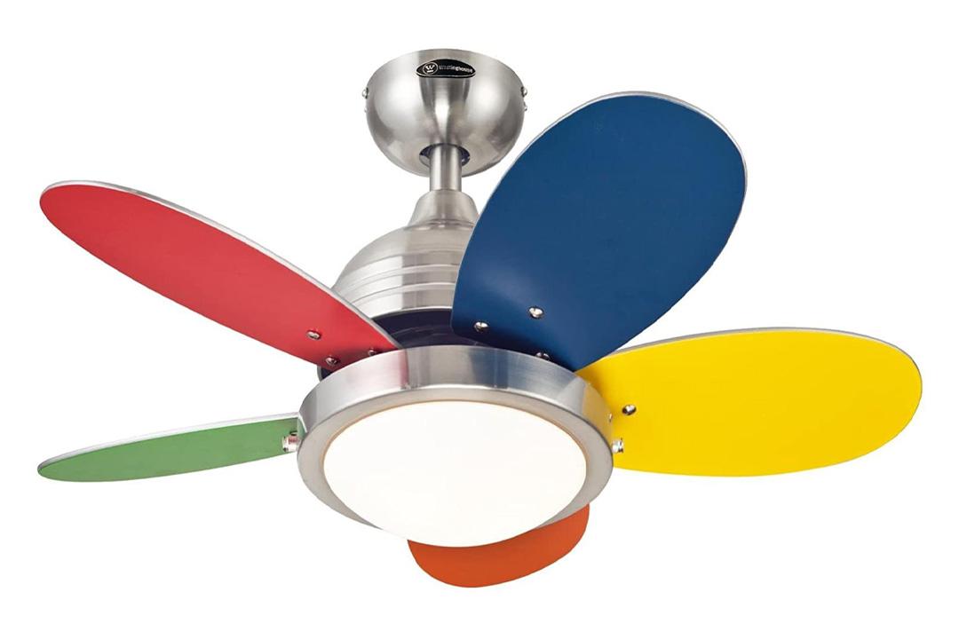 Westinghouse Multicolored Five Blade Ceiling Fan