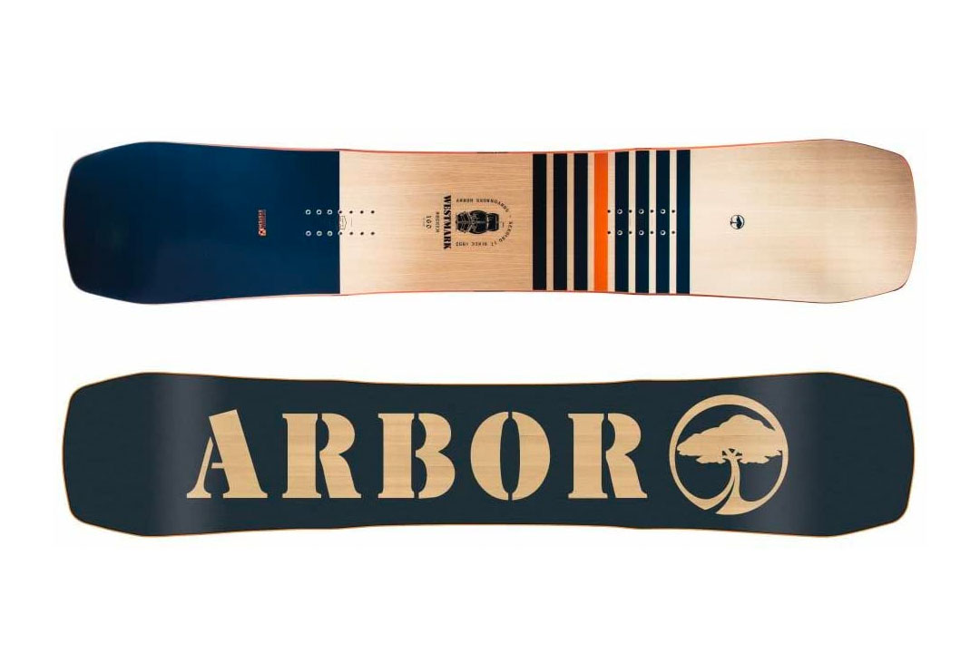 Arbor Westmark Rocker Mid Wide Snowboard Mens